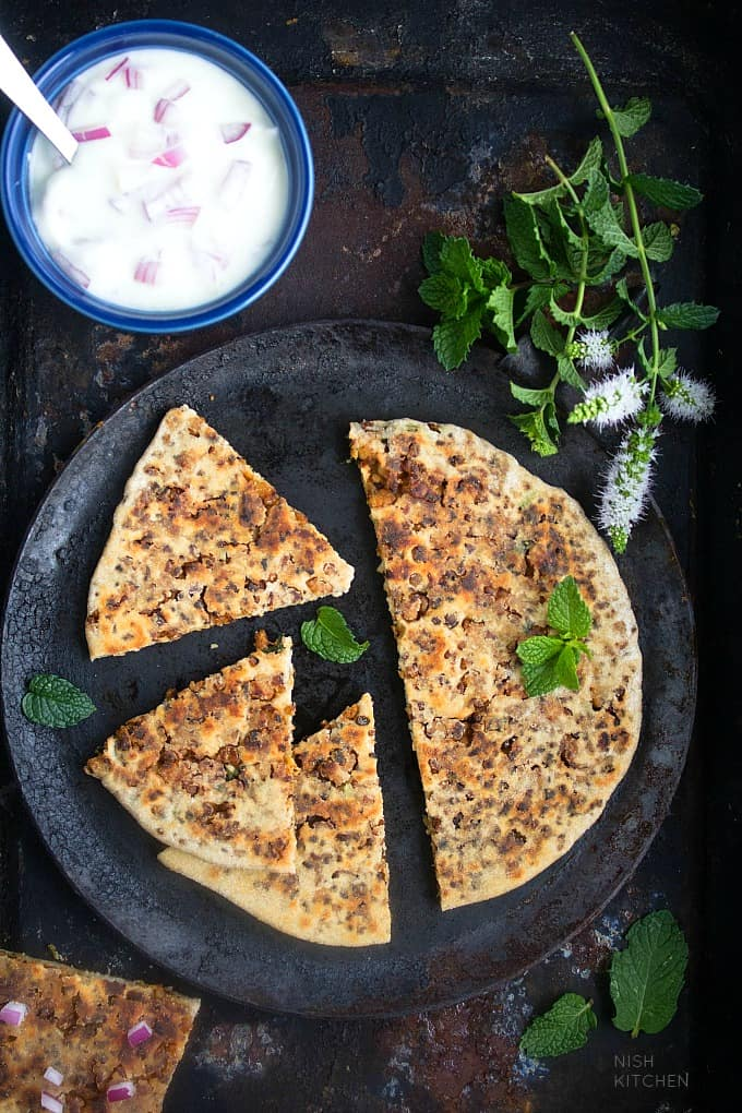 keema paratha recipe video