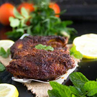 Pan fried tandoori fish recipe video
