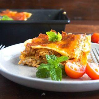 butter chicken lasagna recipe video
