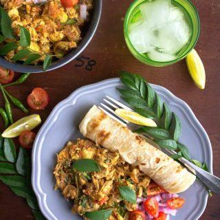indian spicy shredded chicken recipe video