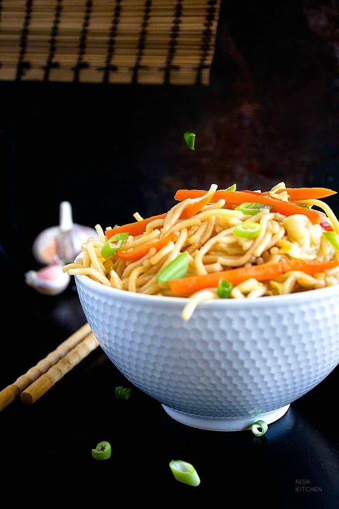 vegetable noodles recipe