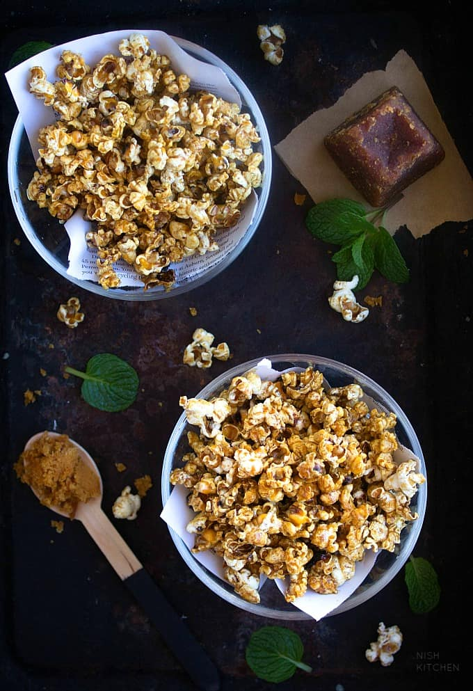 jaggery popcorn recipe video