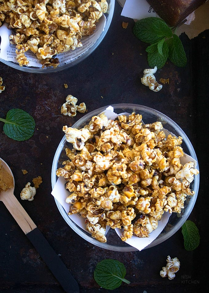 jaggery popcorn recipe
