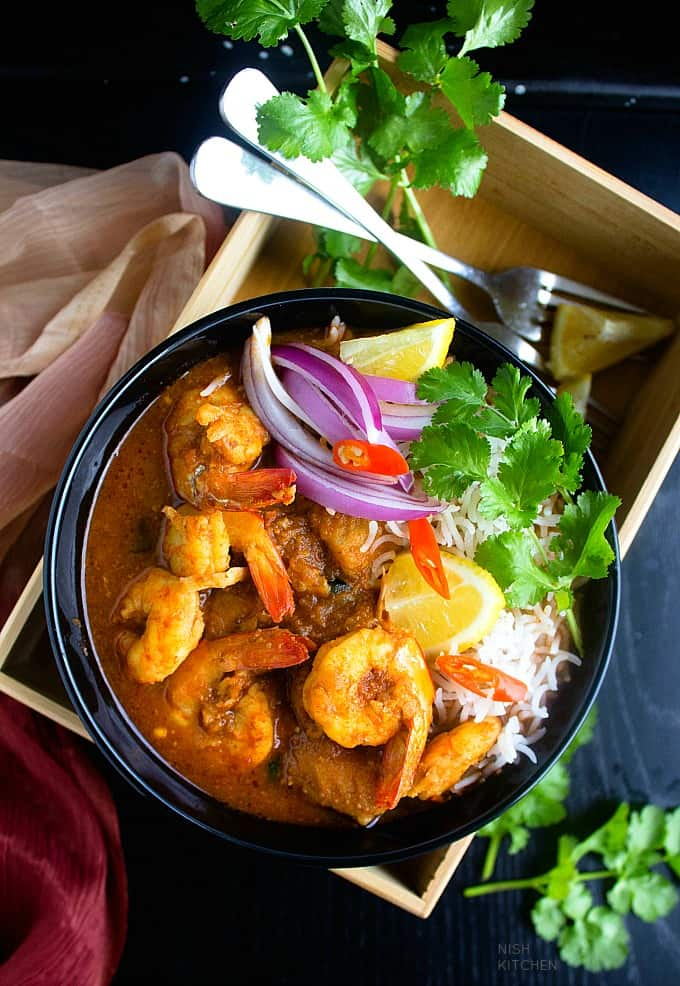 easy indian seafood curry recipe video