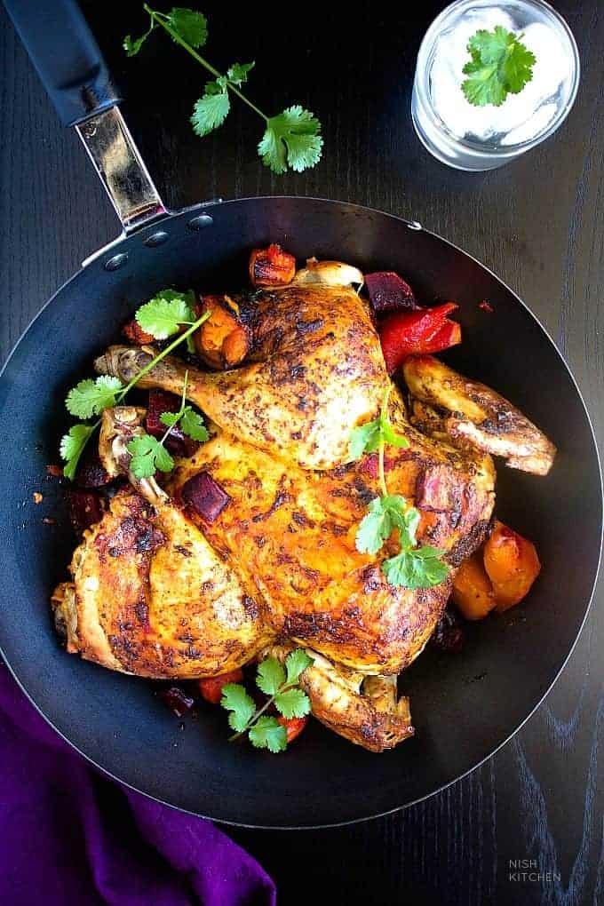 portuguese chicken recipe video