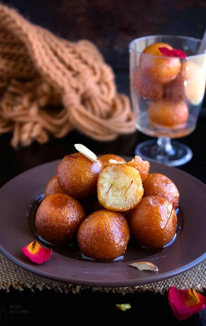 rava gulab jamun recipe