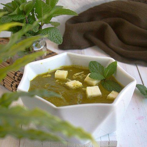 palak paneer - spinach paneer curry recipe video