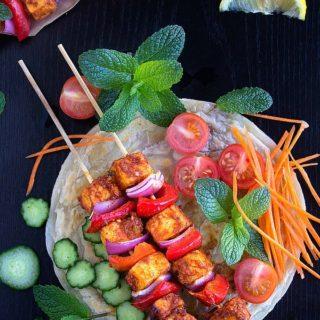 spicy paneer tikka recipe video