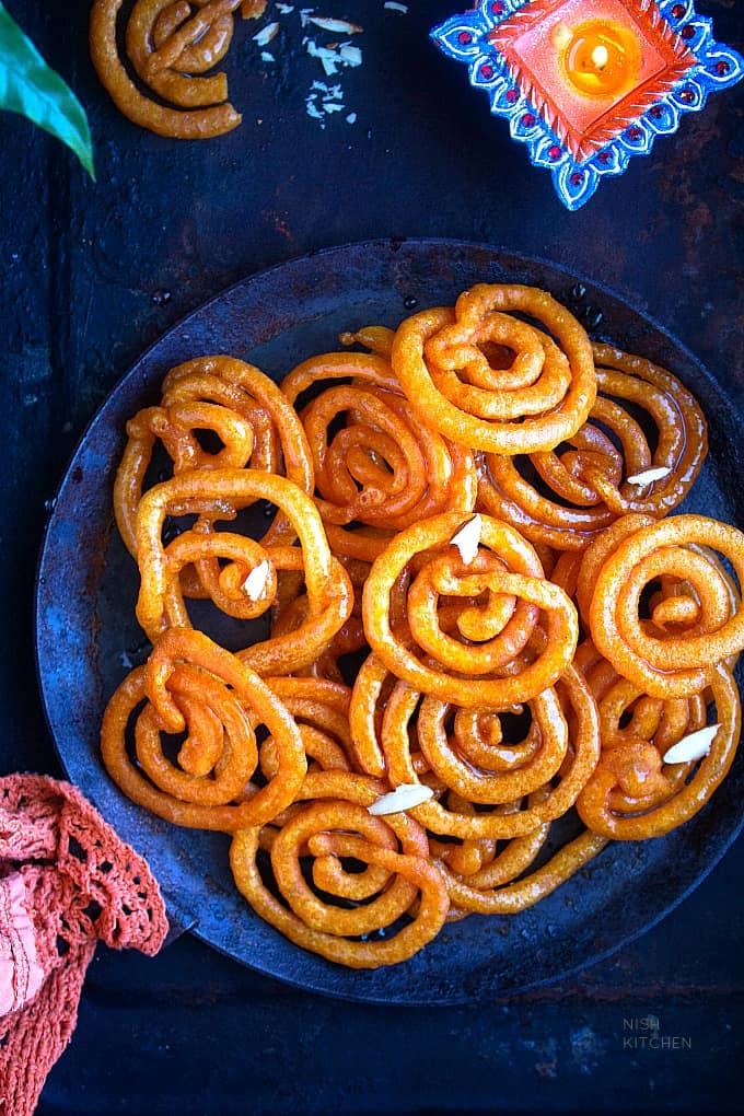 instant jalebi indian sweet