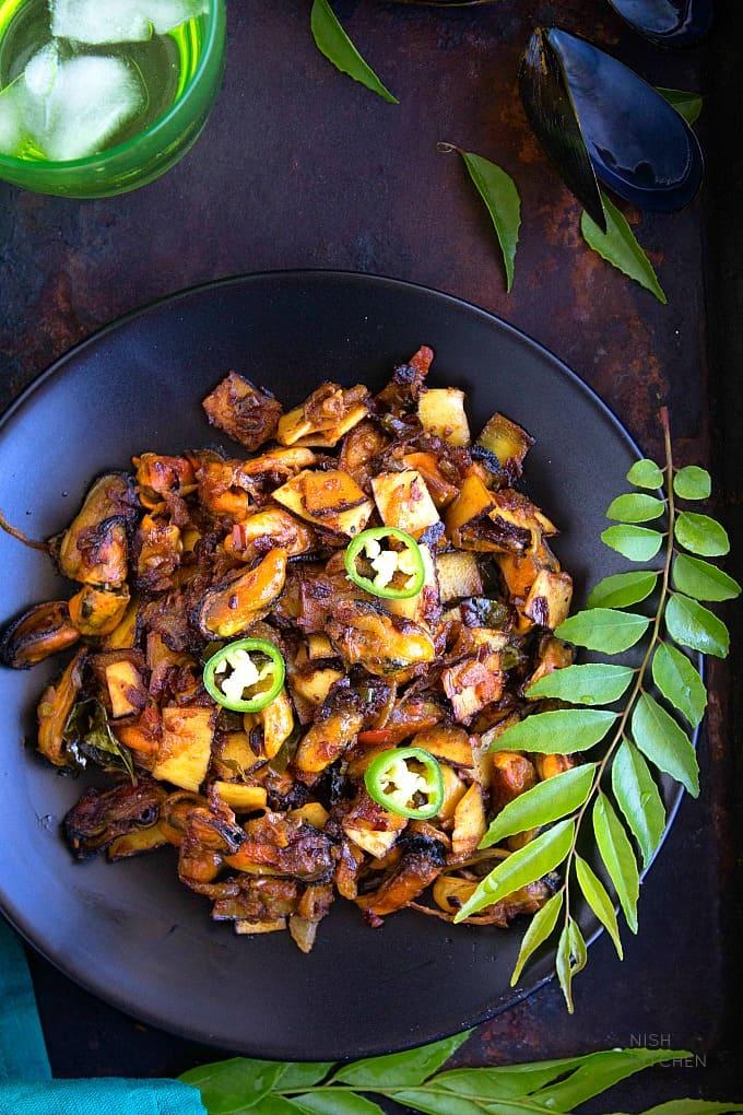 kallumakkaya recipe -mussels fry