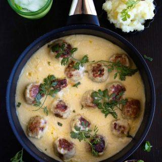 swedish chicken meatballs recipe video