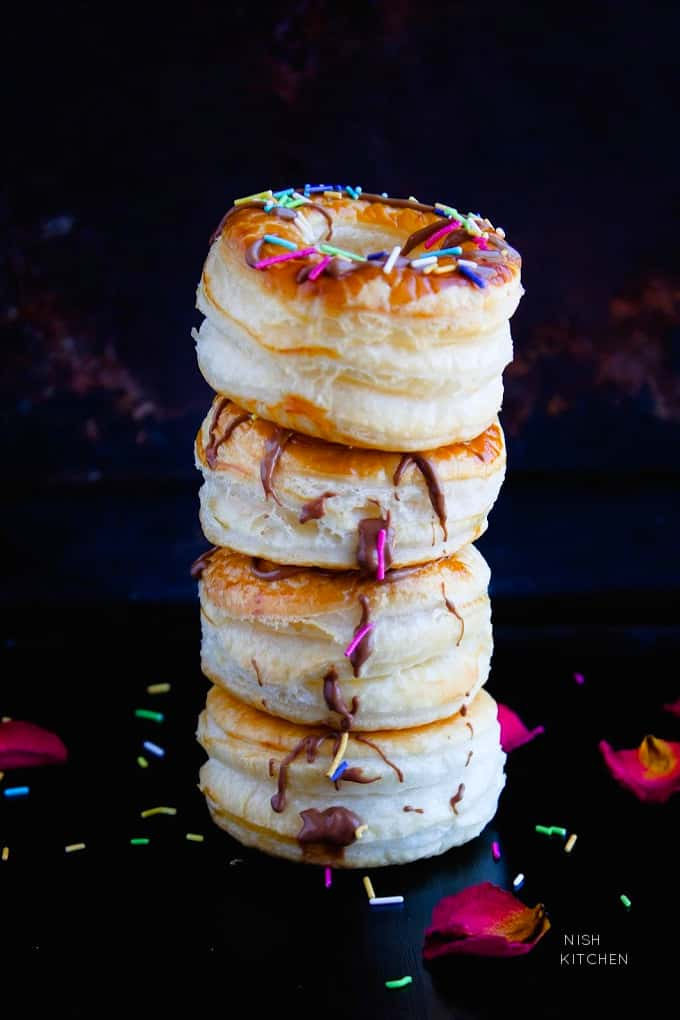 puff pastry cronuts recipe video