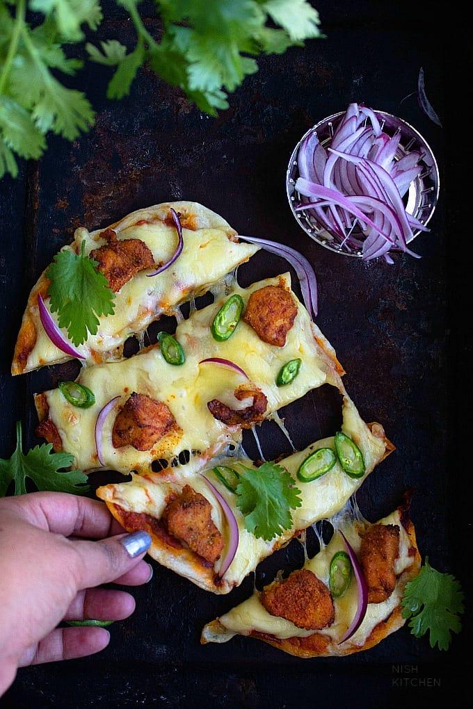 chicken tikka masala pizza recipe
