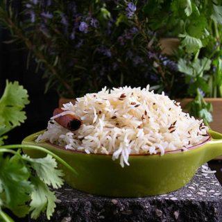 cumin rice or jeera rice recipe video