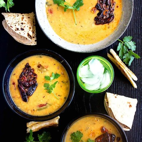 Dal Tadka | Lentils Curry - Restaurant Style | Video