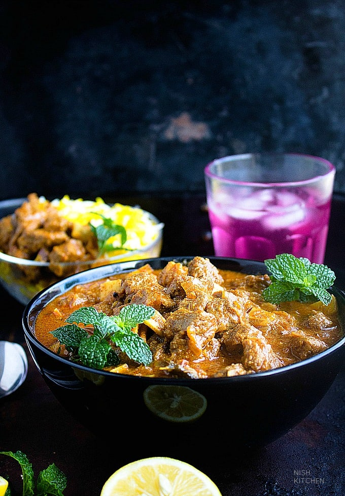 indian style beef curry