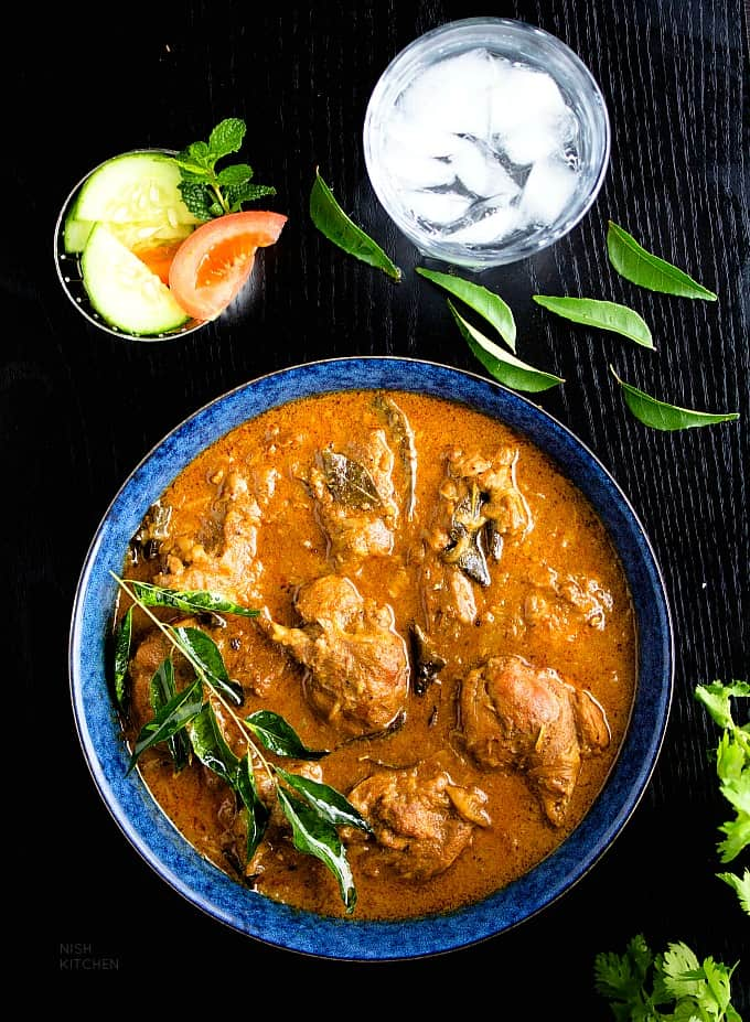 Kerala duck curry