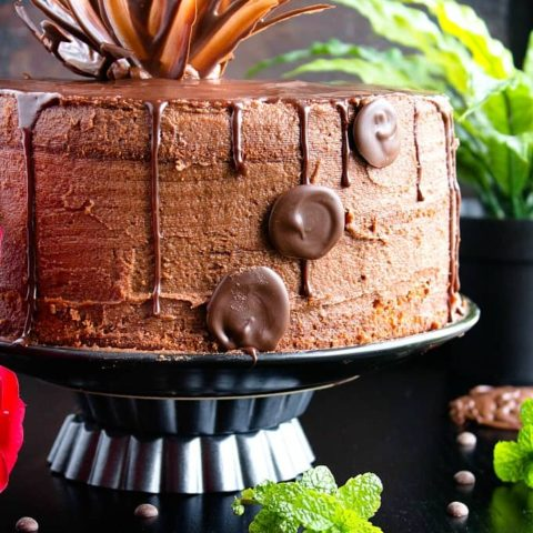 chocolate drip cake recipe video