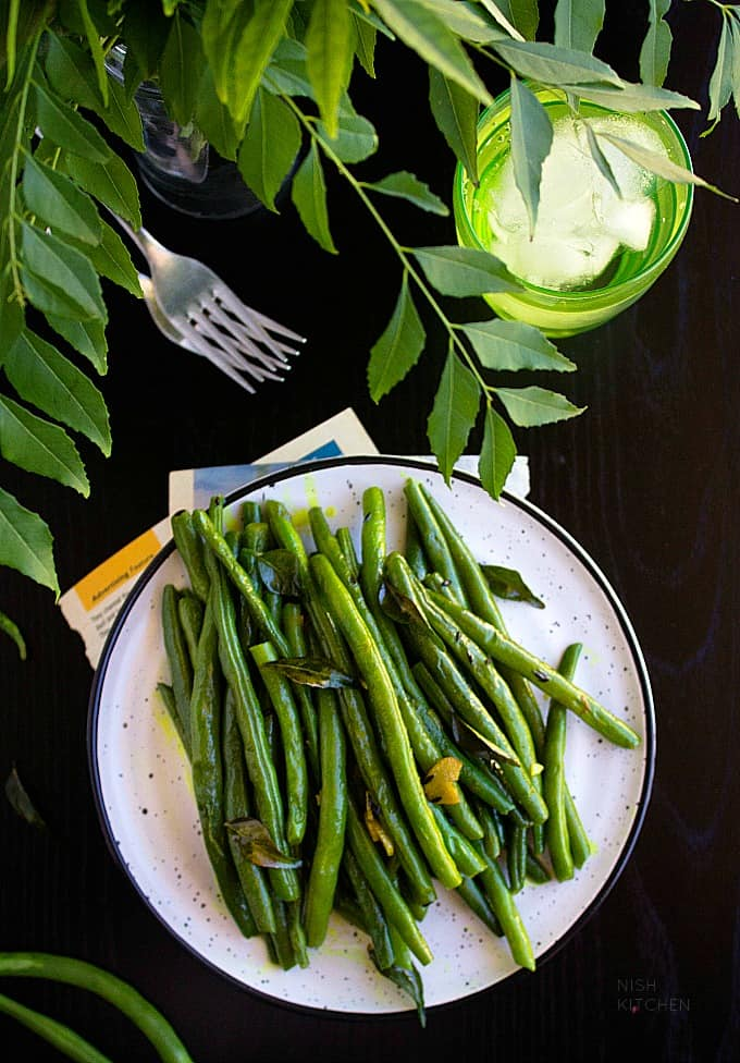 sauteed green beans recipe video