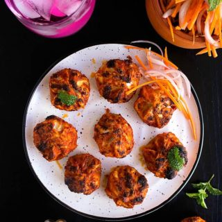 tandoori momos recipe video