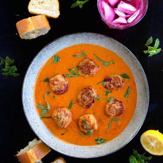 tikka masala meatballs recipe video