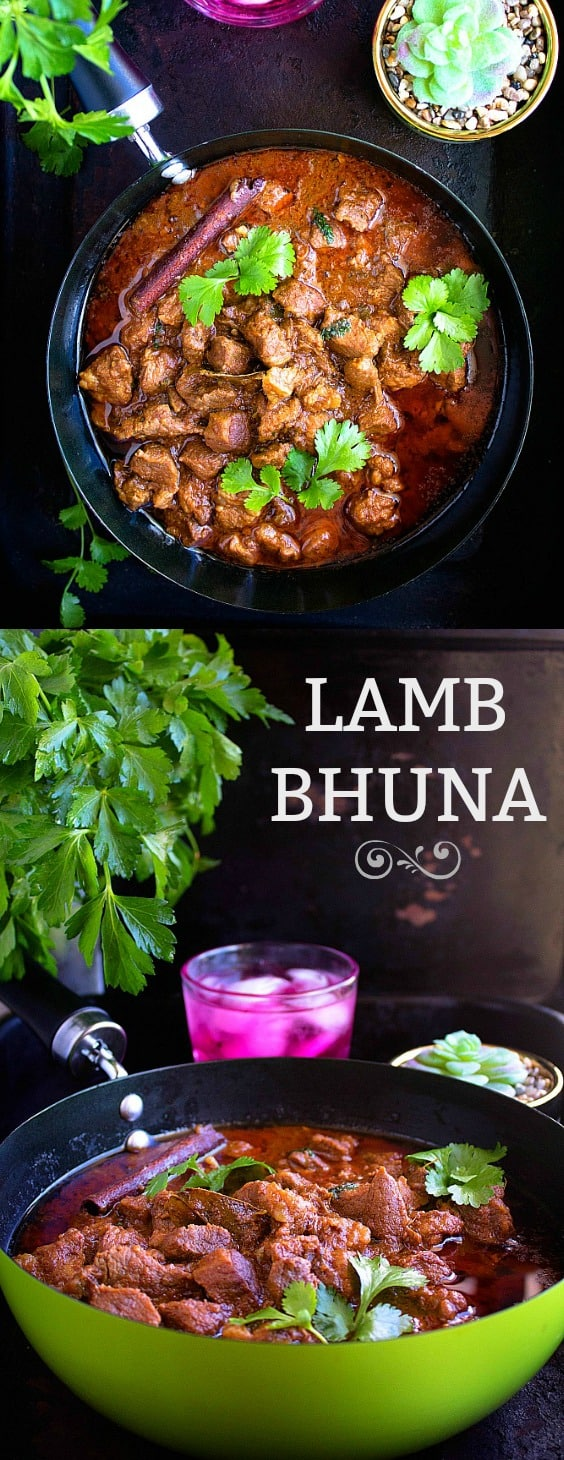 Lamb bhuna - restaurant style