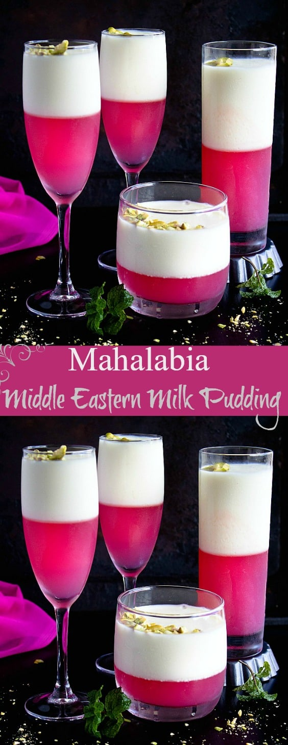 Middle Eastern Milk Pudding - Mahalabia