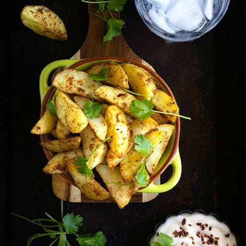spicy potato wedges recipe video