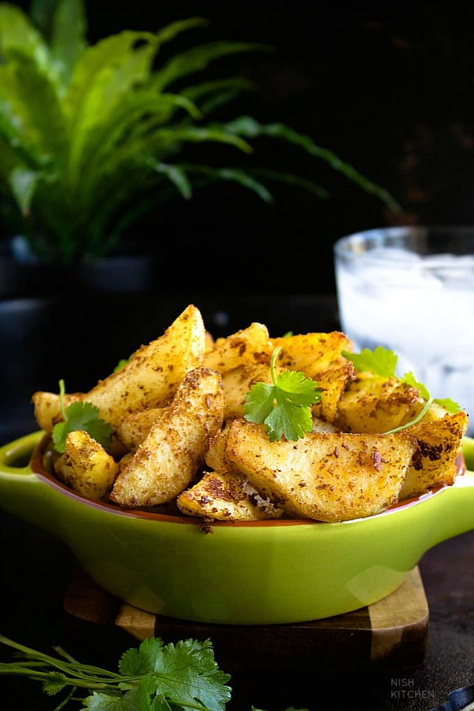indian potato wedges