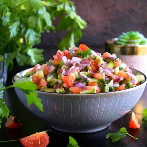 Kachumber salad recipe video