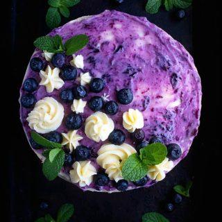 Blueberry coconut cake recipe video