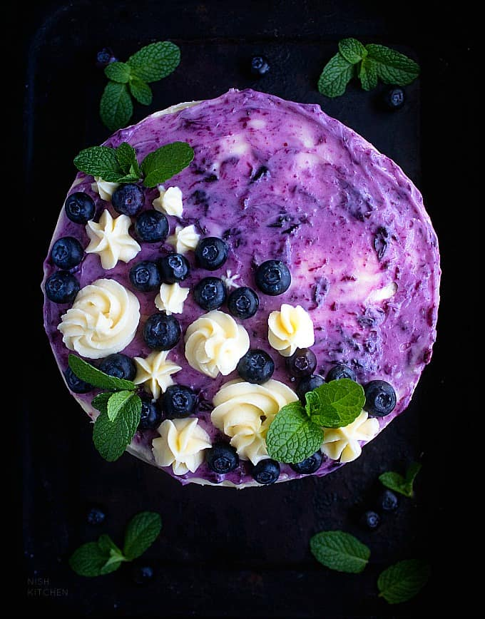 Blueberry coconut cake recipe video