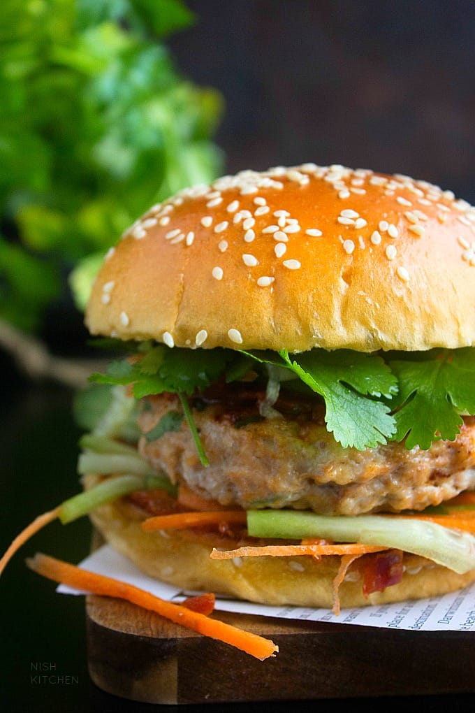 indian burger recipes