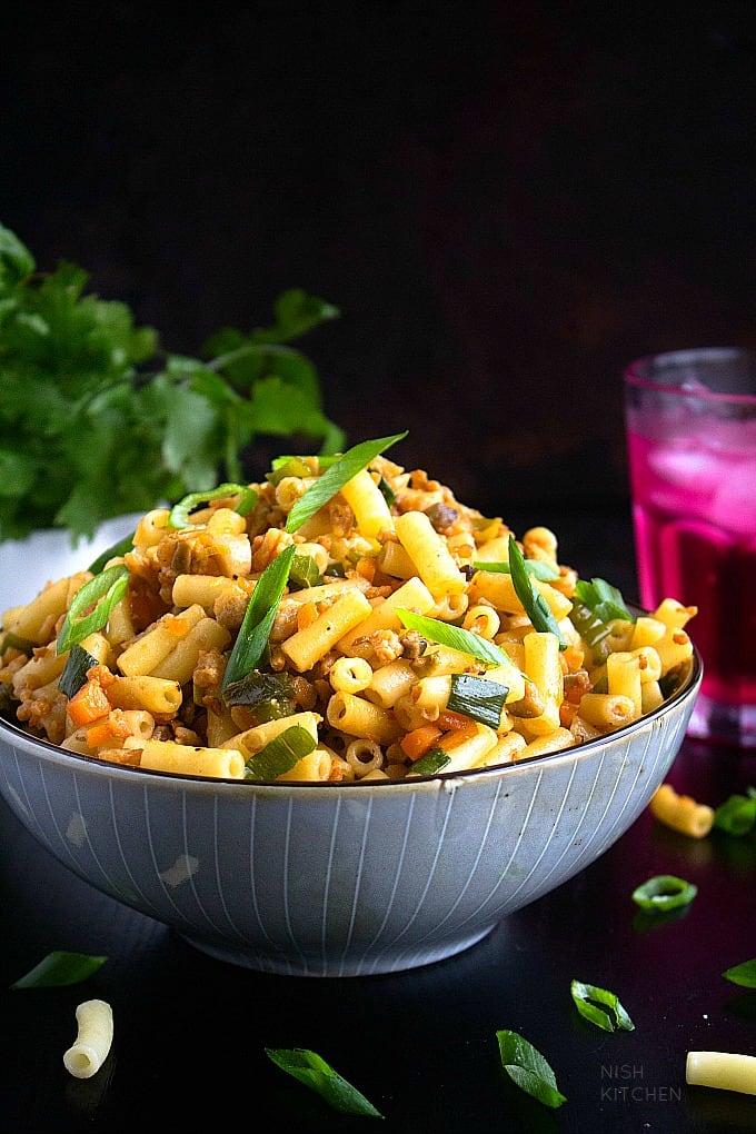 Chinese Macaroni Recipe