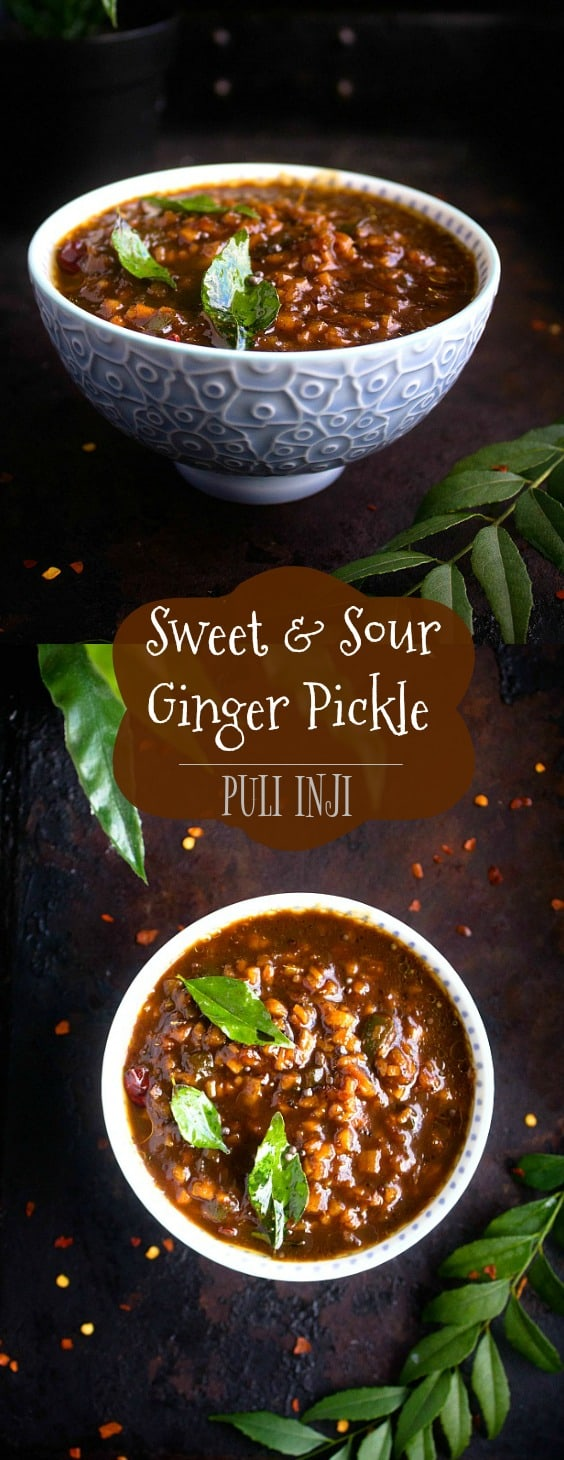 puli inji - sweet and sour pickle
