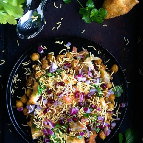 Samosa Chaat | Indian Street Food | Video