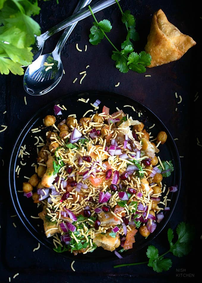 Samosa Chaat Indian Street Food Video