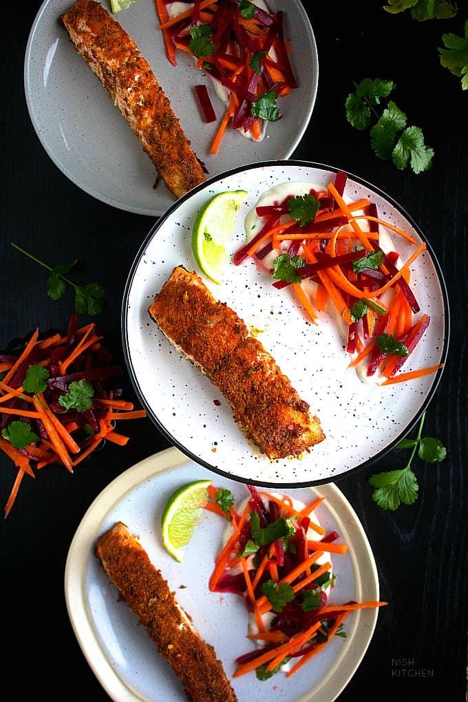Tray bake recipes with salmon