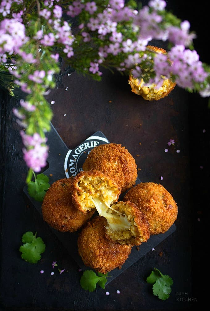 Indian style arancini recipe