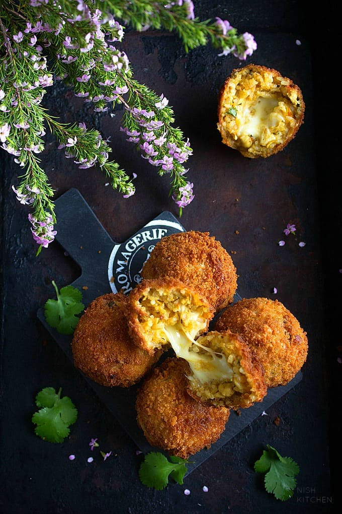 indian arancini recipe video