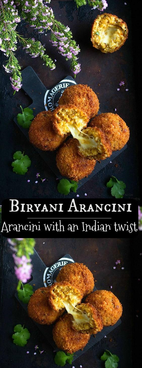 Indian arancini recipe