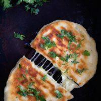 Cheese Naan   Cheese Stuffed Flatbread   Video