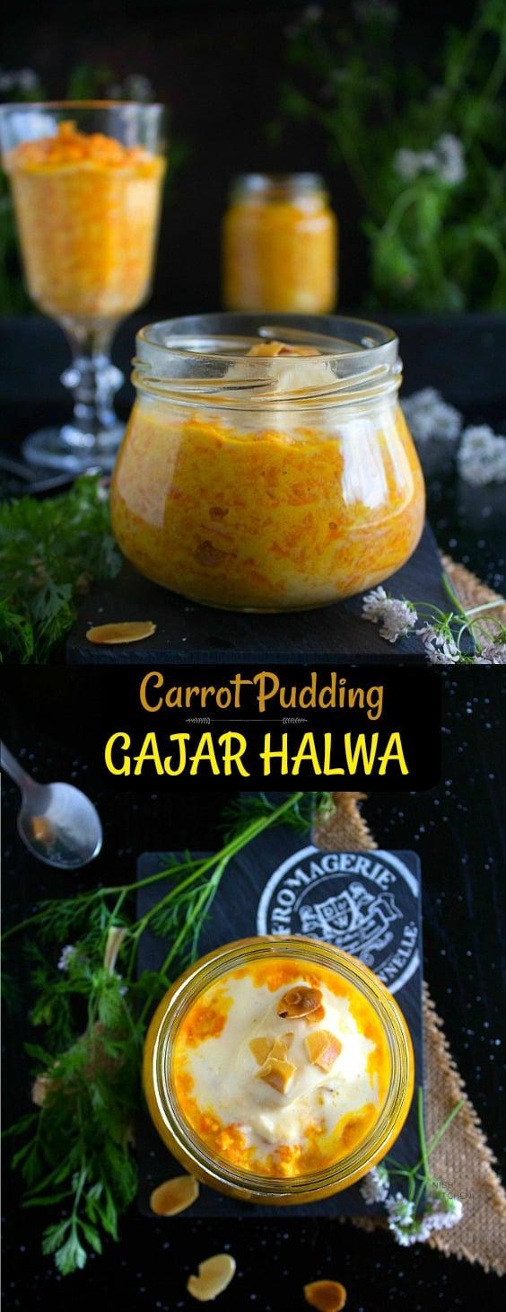 Healthy gajar halwa recipe