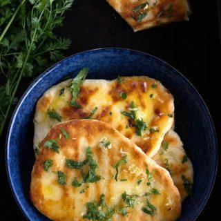 Garlic naan recipe video