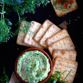 Indian guacamole or avocado raita recipe video