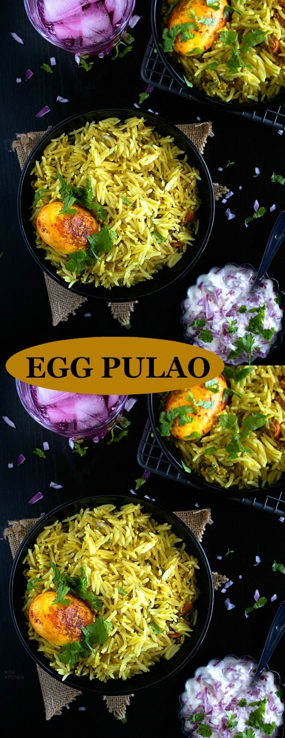 One pot Egg Pulao