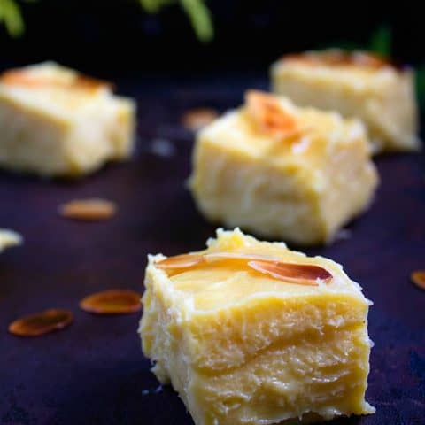 3 Ingredient Mango Burfi | Mango Fudge | Video