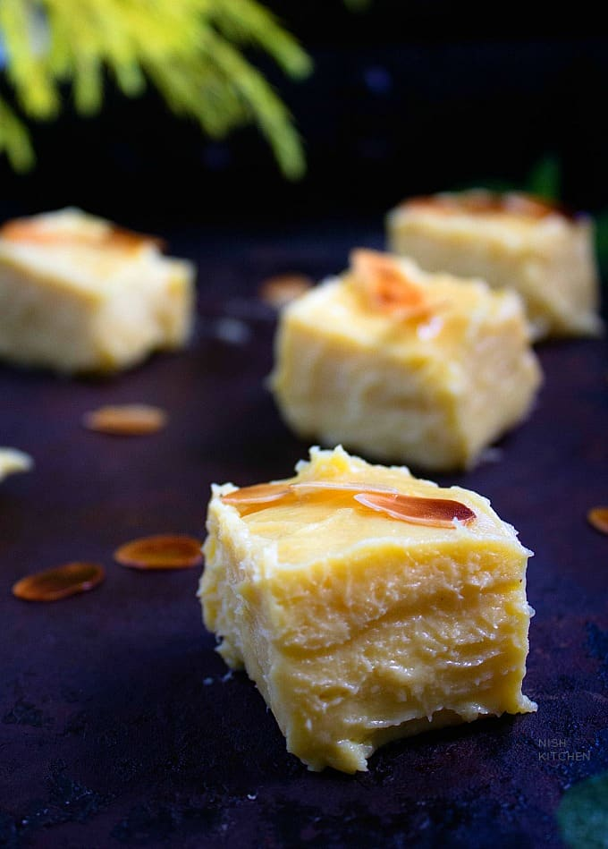mango burfi recipe video
