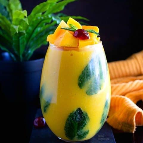 Thai Mango Coconut Pudding | Video
