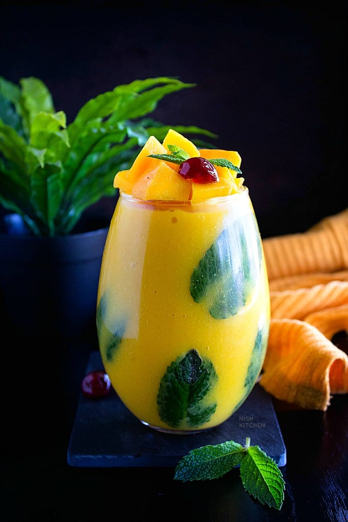 Thai mango coconut pudding recipe video